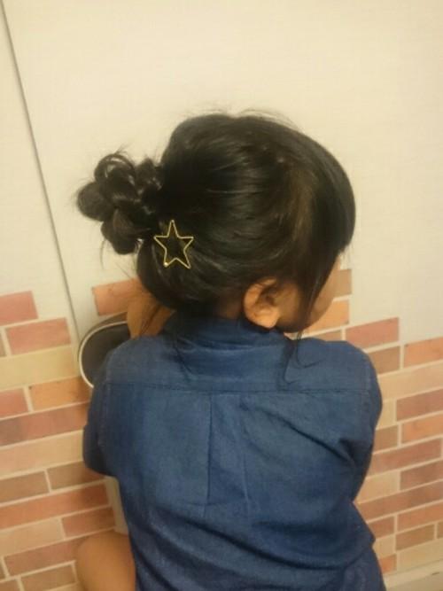 入学式髪型3