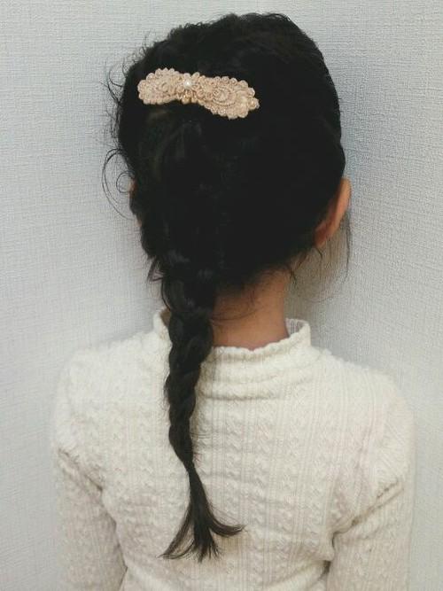 入学式髪型4