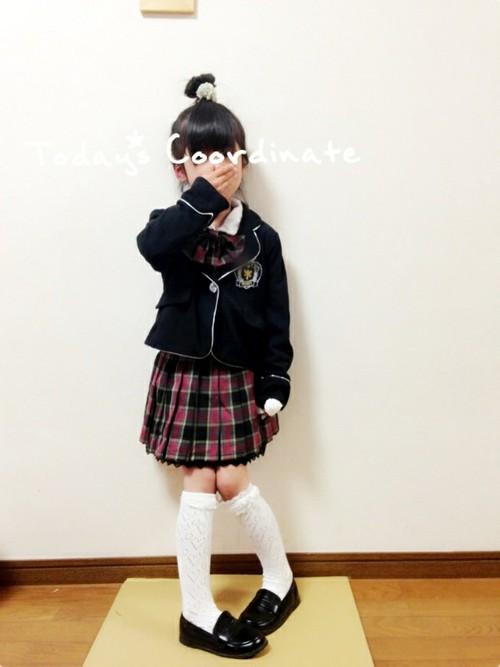 入学式服装1