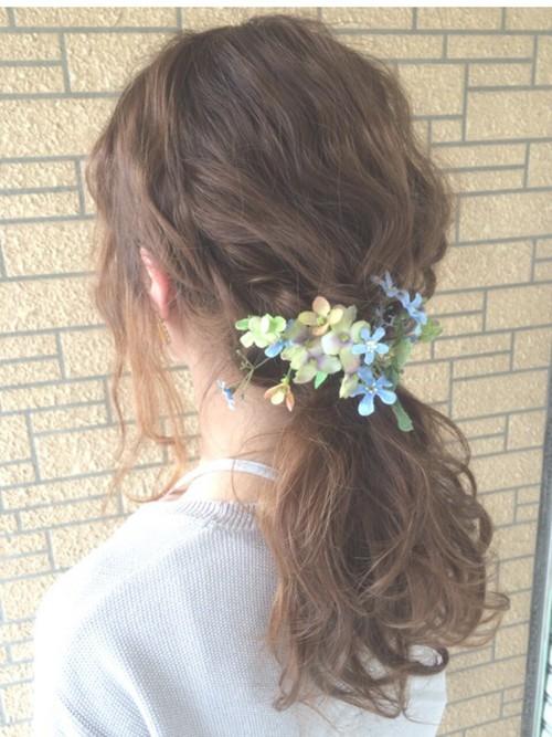 結婚式髪型4