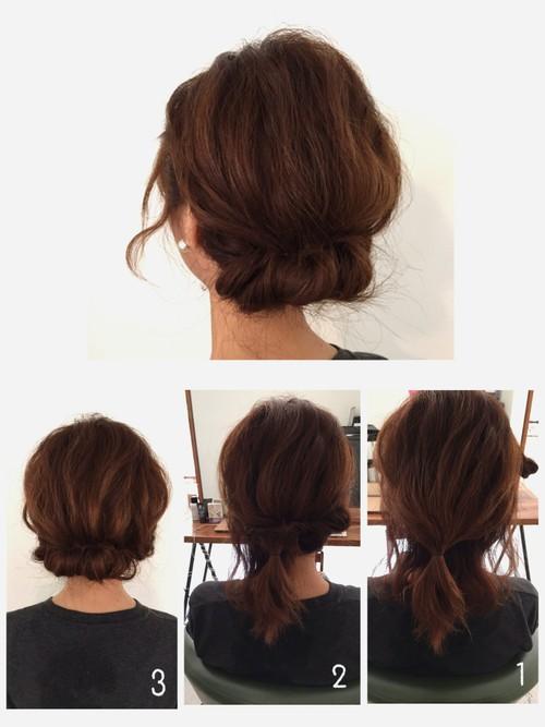 葬式髪型1