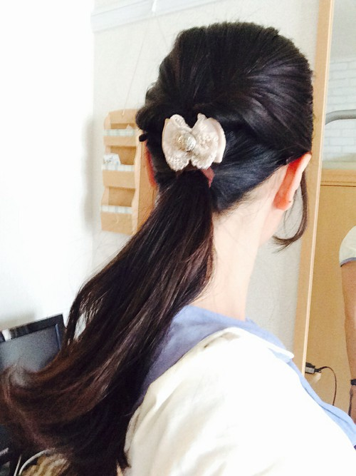 葬式髪型4