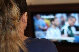 液晶テレビ画面の掃除1