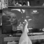 液晶テレビ画面の掃除3