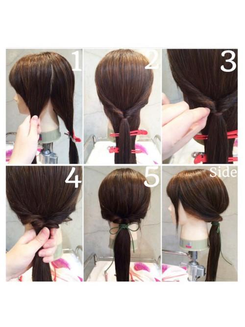 大学入学式髪型5