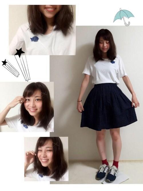 中学校卒業式髪型5