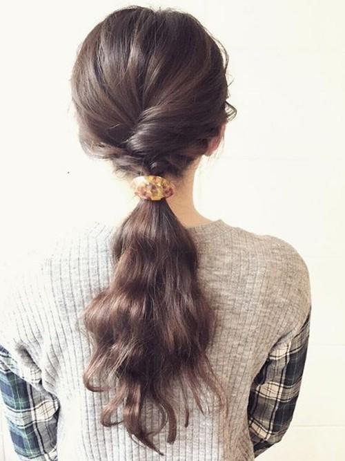 大学入学式髪型4