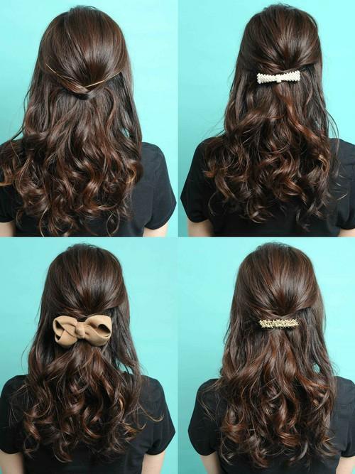 大学入学式髪型3