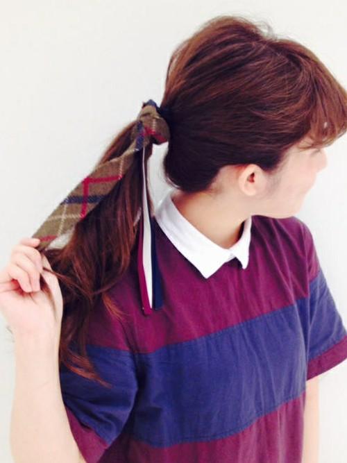 中学校卒業式髪型2