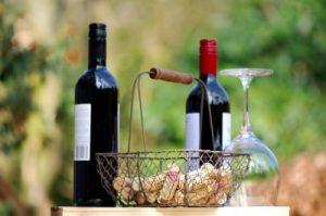 赤ワインと白ワイン1