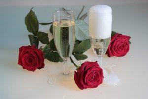 赤ワインと白ワイン4